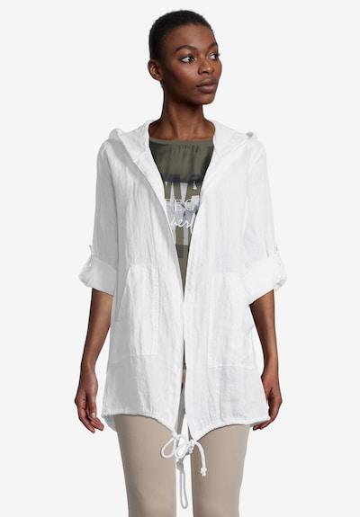 Cartoon Manteaux d'été en blanc, Vue avec modèle