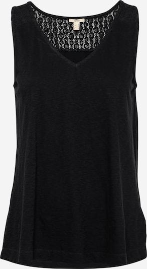 ESPRIT Top 'Crochet' in Black, Item view