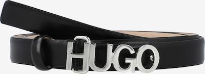 HUGO Ceinture en noir, Vue avec produit