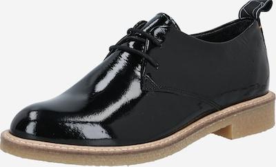 HUB Schnürschuh 'Braga' in schwarz, Produktansicht