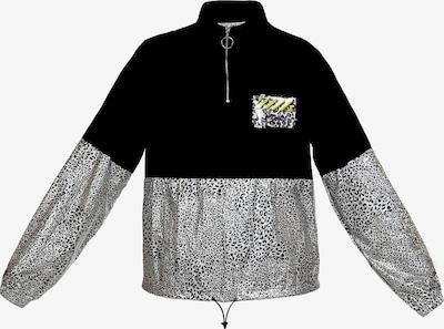 myMo ATHLSR Tussenjas in de kleur Zwart / Wit, Productweergave