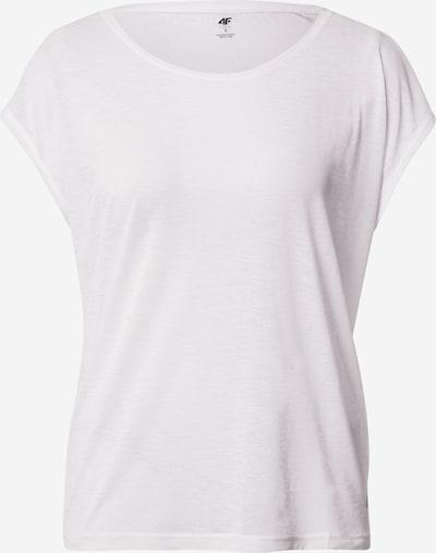 4F Funktionsshirt in weiß, Produktansicht