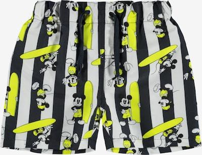 NAME IT Bermudas 'Mickey helmi' en zafiro / amarillo / blanco, Vista del producto