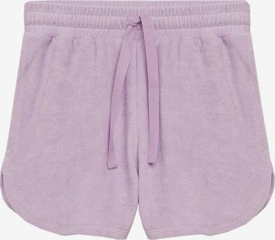 MANGO Pyjamahose  'Towel' in lila, Produktansicht