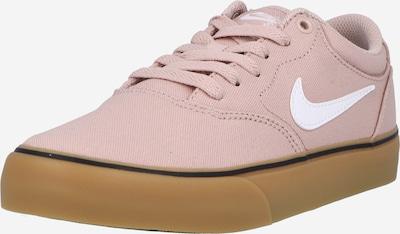 Nike SB Baskets basses en rose / blanc, Vue avec produit