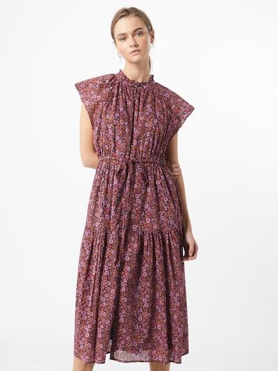 GAP Kleid in dunkelblau / orange / pink / hellpink, Modelansicht
