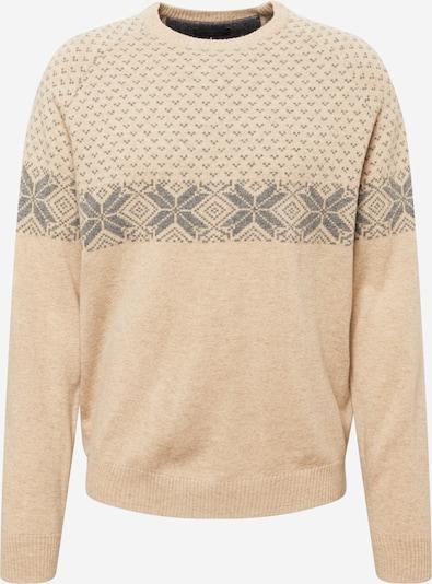 FYNCH-HATTON Sweater in Ecru / mottled grey, Item view