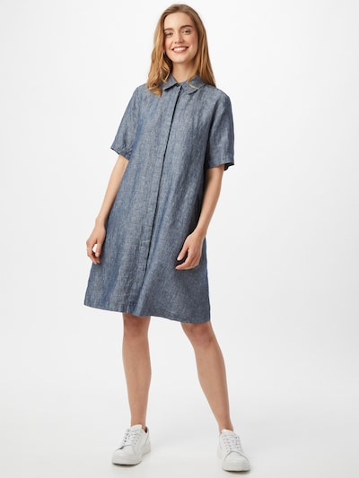 OPUS Kleid 'Welika' in taubenblau, Modelansicht