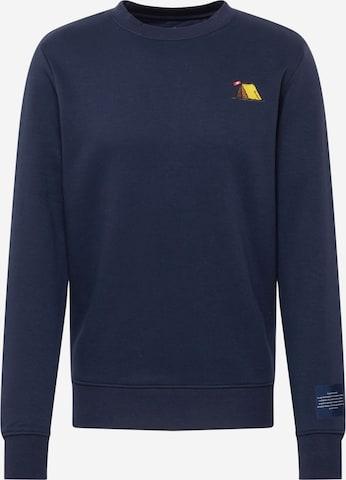 Kronstadt Sweatshirt 'Lars' in Blau