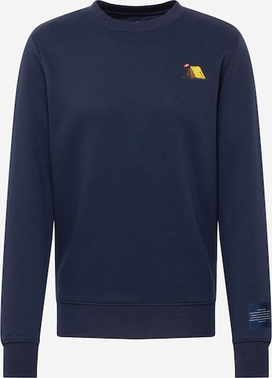 Kronstadt Sweatshirt 'Lars' in navy, Produktansicht