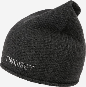 Twinset Mütze in Grau
