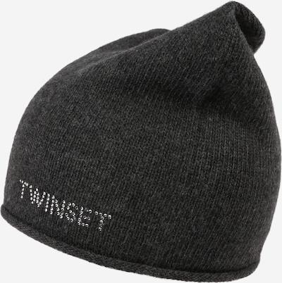 Twinset Mütze in anthrazit, Produktansicht