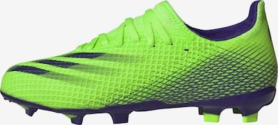 ADIDAS PERFORMANCE Fußballschuh 'X Ghosted.3' in navy / neongrün, Produktansicht