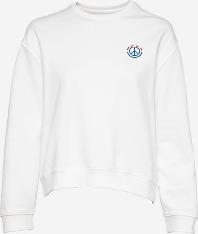ELEMENT Sportsweatshirt 'DOVE' i himmelblå / rød / offwhite, Produktvisning