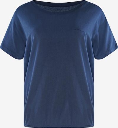 mazine T-Shirt ' Marble ' in navy, Produktansicht