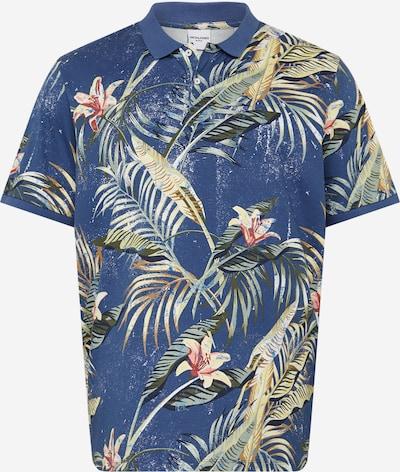 Jack & Jones Plus Shirt in de kleur Blauw / Gemengde kleuren, Productweergave