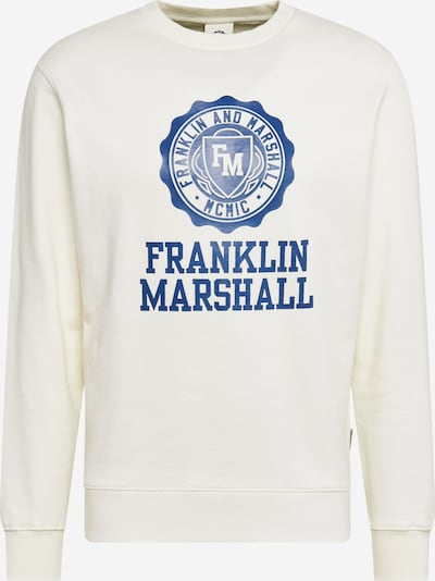 FRANKLIN & MARSHALL Sweatshirt in weiß, Produktansicht