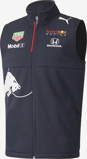 PUMA Sportbodywarmer 'Red Bull Racing' in de kleur Nachtblauw / Geel / Rood / Wit, Productweergave