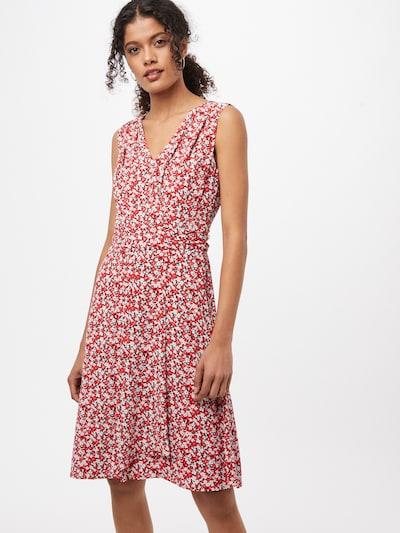 Lauren Ralph Lauren Kleid 'ELNA' in marine / rot / weiß, Modelansicht