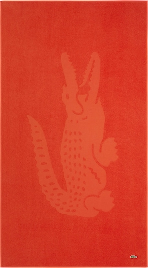 LACOSTE Strandtuch 'L SPORT' in orange, Produktansicht