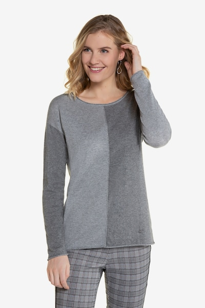 Gina Laura Pullover in grau: Frontalansicht