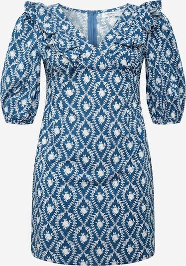 GLAMOROUS CURVE Kleid in dunkelblau / weiß, Produktansicht