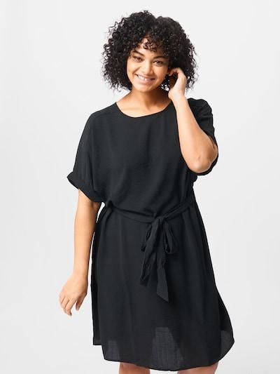 ONLY Carmakoma Kleid in schwarz, Modelansicht