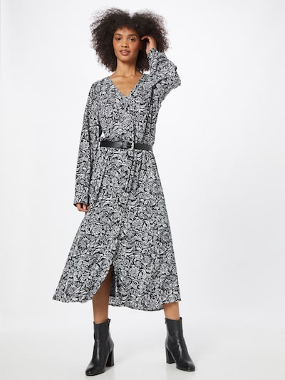 Palaidinės tipo suknelė 'KATE' iš MICHAEL Michael Kors, spalva – juoda / balta, Modelio vaizdas