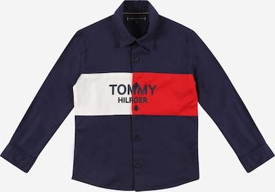 TOMMY HILFIGER Overhemd in de kleur Donkerblauw / Rood / Wit, Productweergave