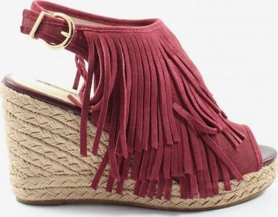 Buffalo London Wedges Sandaletten in 39 in rot, Produktansicht