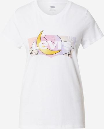 LEVI'S T-shirt i vit
