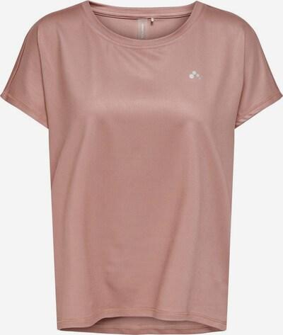 ONLY PLAY T-shirt fonctionnel en rose ancienne / blanc, Vue avec produit