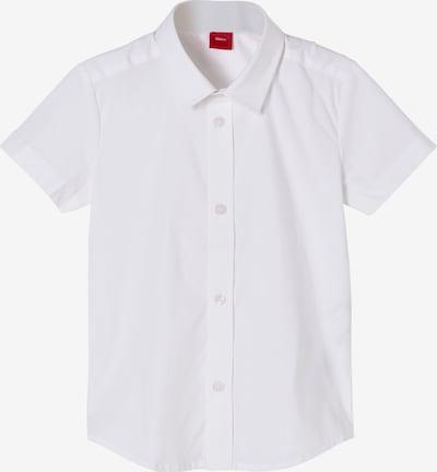 s.Oliver Overhemd in de kleur Wit, Productweergave