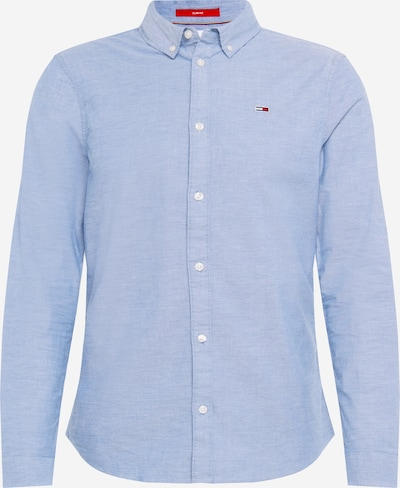 Tommy Jeans Camisa 'TJM SLIM STRETCH OXFORD SHIRT' en azul claro, Vista del producto