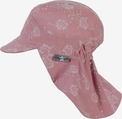 STERNTALER Mütze in rosa / weiß, Produktansicht