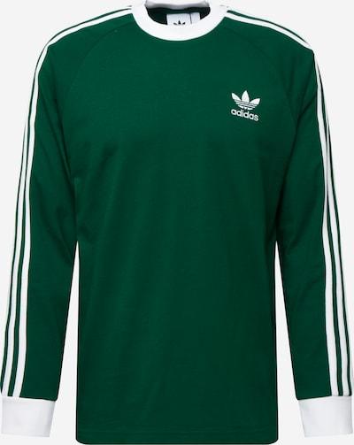 sötétzöld / fehér ADIDAS ORIGINALS Tréning póló, Termék nézet