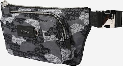 Calvin Klein Gürteltasche in stone / schwarz / weiß, Produktansicht