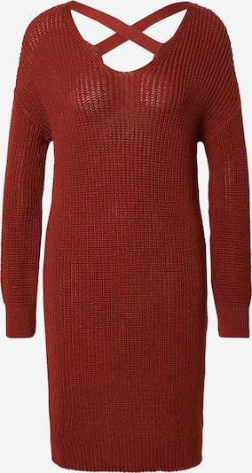 ABOUT YOU Knitted dress 'Laurina' in Chestnut brown, Item view