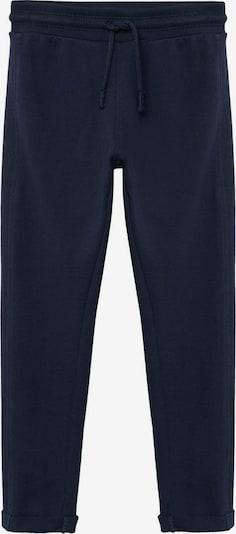 MANGO KIDS Pantalon 'PRAGA' en bleu marine, Vue avec produit