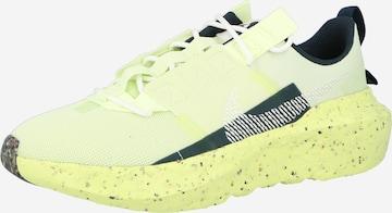 Baskets basses 'Crater Impact' Nike Sportswear en vert