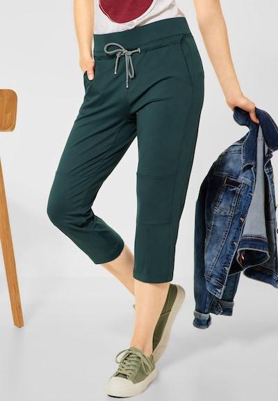 STREET ONE Kalhoty - tmavě zelená, Model/ka