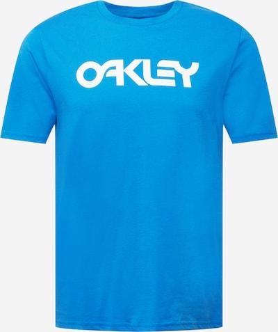 Tricou funcțional OAKLEY pe albastru regal / alb, Vizualizare produs