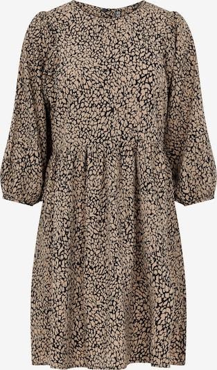 PIECES Kleid 'PCGILBERTA' in braun / schwarz, Produktansicht