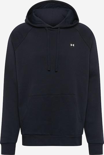 UNDER ARMOUR Sportsweatshirt 'Rival' in de kleur Zwart, Productweergave