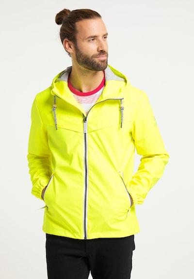 Schmuddelwedda Jacke in gelb: Frontalansicht