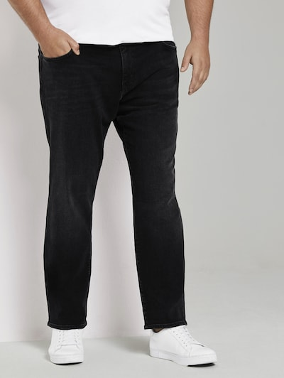 TOM TAILOR Men Plus Jeans in black denim, Modelansicht