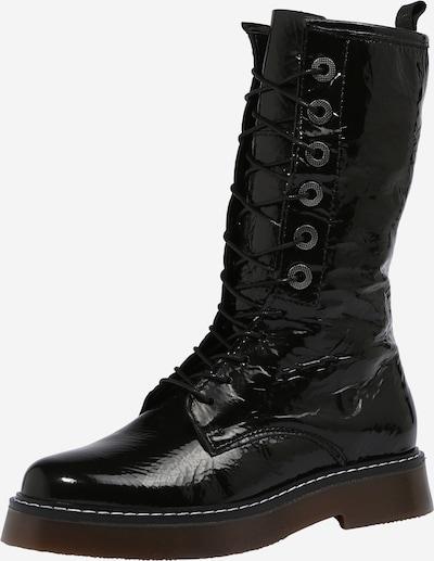 MJUS Botas con cordones 'Tris' en negro, Vista del producto