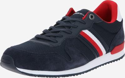 TOMMY HILFIGER Sneakers laag in de kleur Donkerblauw / Rood / Wit, Productweergave