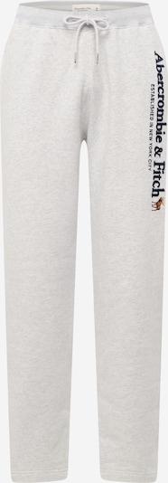 Abercrombie & Fitch Hose in graumeliert / schwarz, Produktansicht