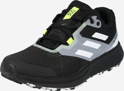 ADIDAS PERFORMANCE Juoksukengät 'Two Flow' värissä neonkeltainen / vaaleanharmaa / musta / valkoinen, Tuotenäkymä